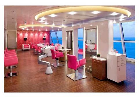 Роскошный салон красоты в бизнес центре