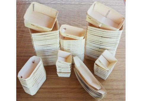 Производство экологической упаковки из натурального шпона