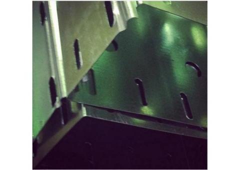 Производство металлических кабеленесущих лотков