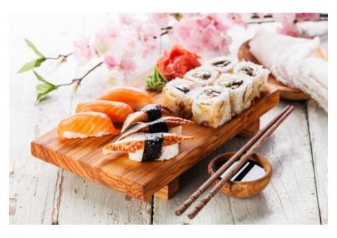 Доля в действующем суши-баре Азиатской кухни