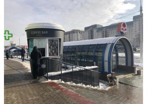 Кофе стакан рядом с метро Уручье