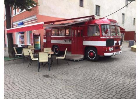 Food Truck на базе автобуса ПАЗ